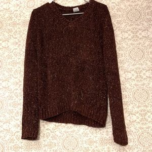 Vintage Airport Chenille Soft Fuzzy Ugly Sweater